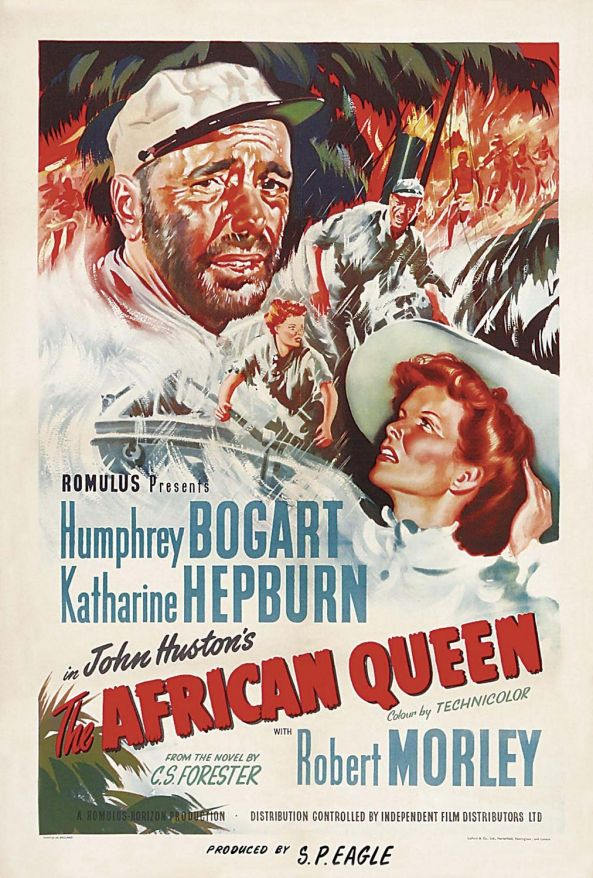 The African Queen Movie Poster