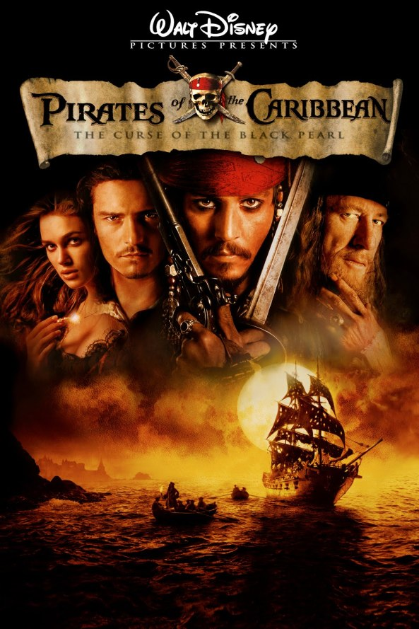Pirates of the Caribbean The Curse of the Black Pearl Movie Poster