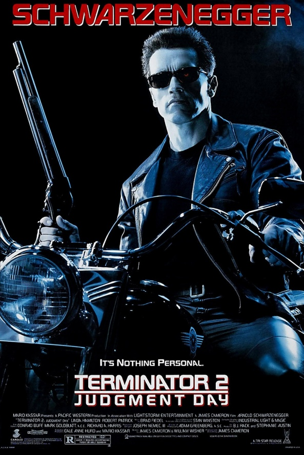 Terminator 2 Judgement Day Movie poster
