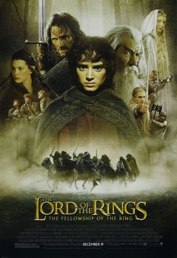 The Lord of the Rings The Fellowship of the Ring Extended Edition Movie Poster