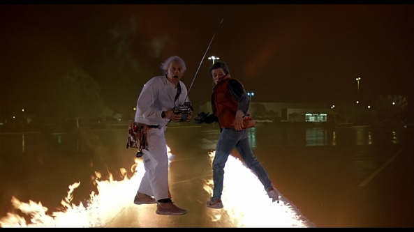 Back to the Future Scene 1