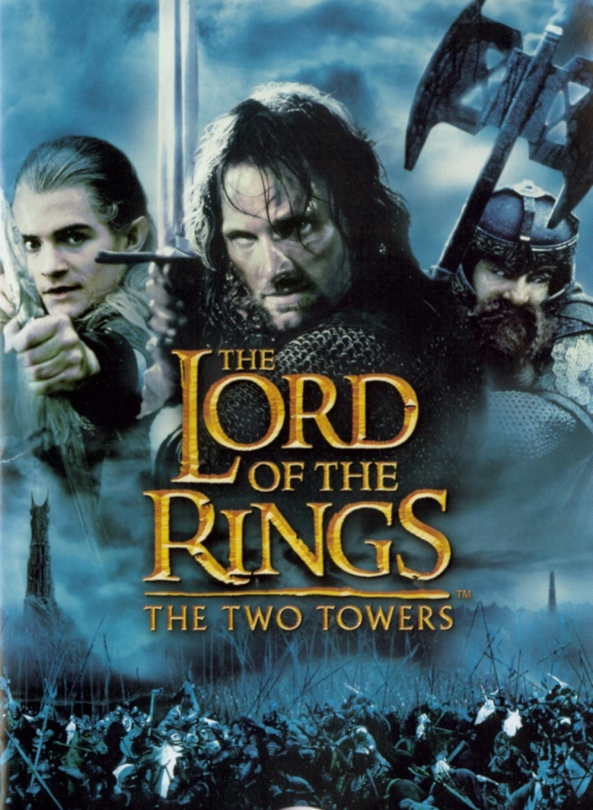 The Lord of the Rings The Two Towers Movie Poster