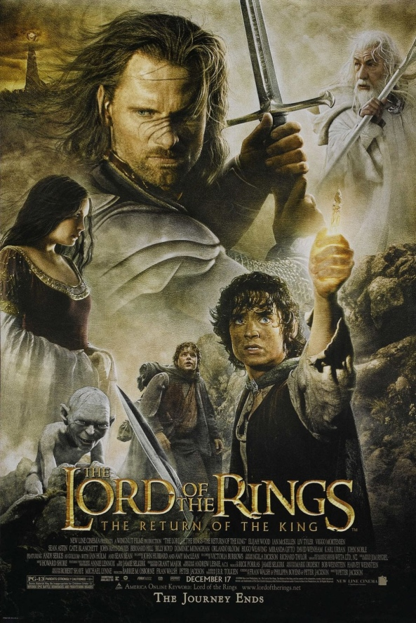 The Lord of the Rings The Return of the King Movie Poster