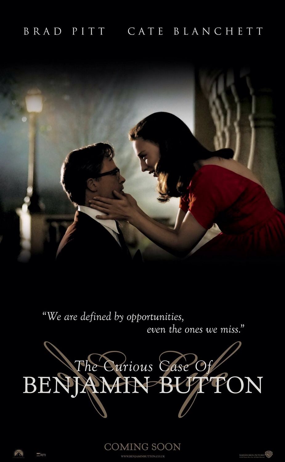 Curious Case of Benjamin Button Poster