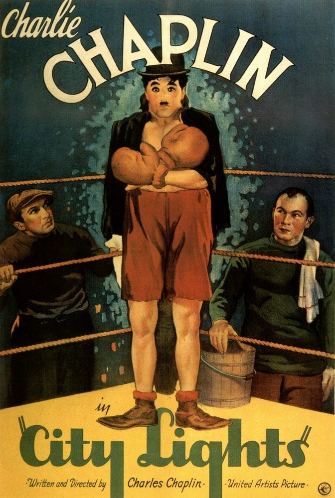 Charlie Chaplin City Lights Movie Poster
