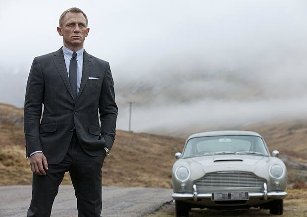 James Bond Daniel Craig Skyfall