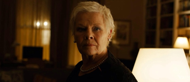 Judi Dench Skyfall James Bond