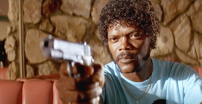 Samuel L Jackson Pulp Fiction