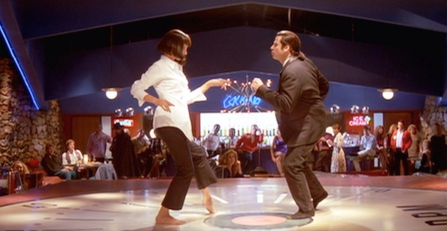 John Travolta Uma Thurman Pulp Fiction
