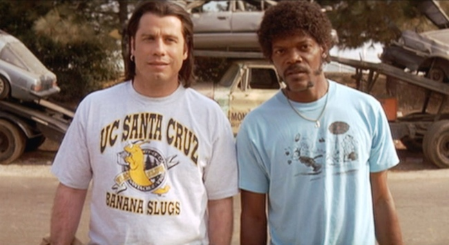 John Travolta Samuel L Jackson Pulp Fiction