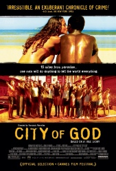 City of God Movie Poster Cidade De Deus