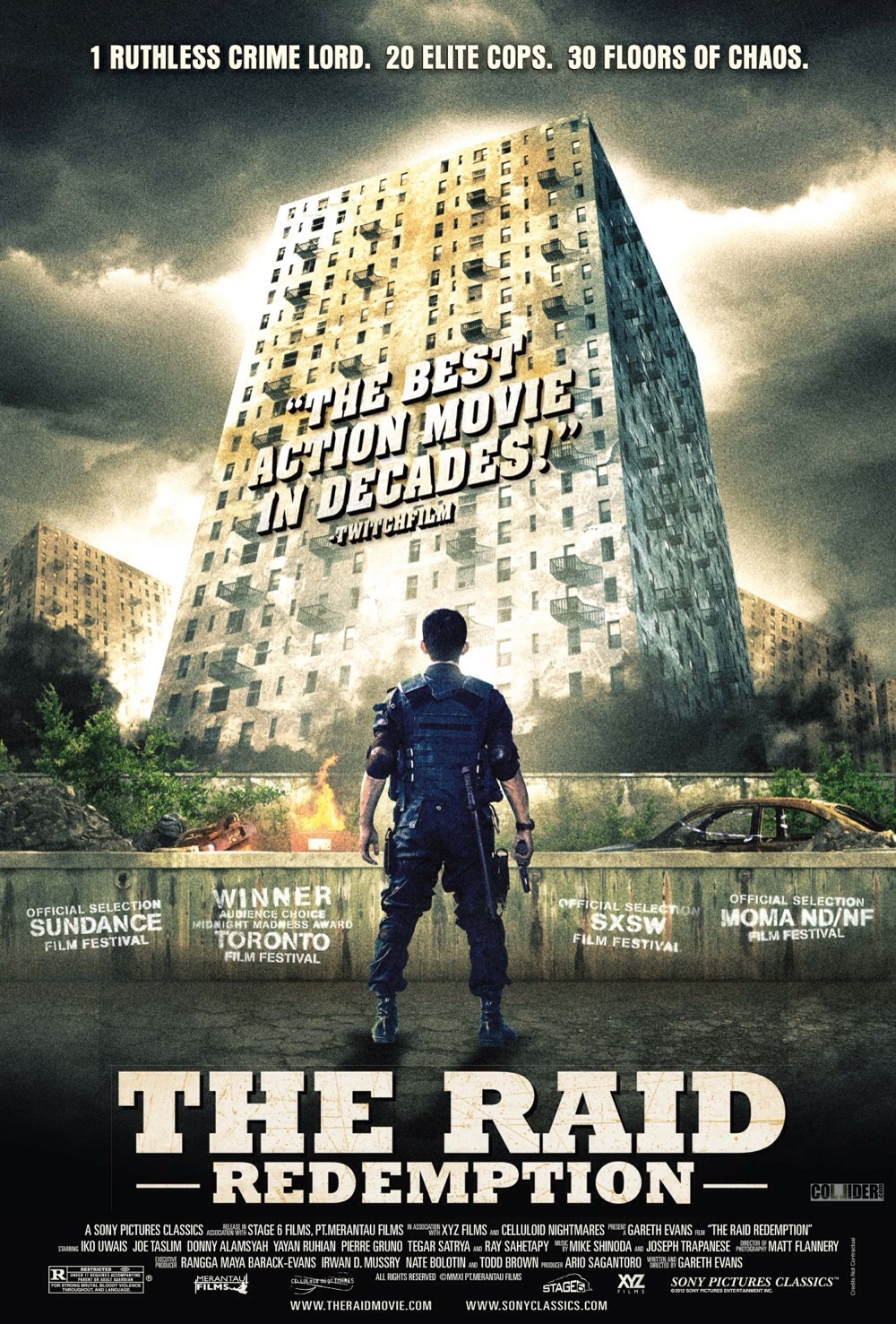 The Raid Redemption Movie Poster