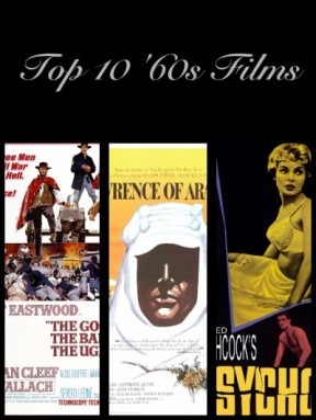 Top 10 60s Films