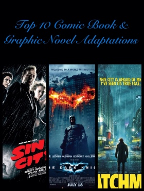 Top 10 Comic Book and Graphic Novel Adaptations