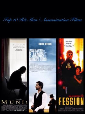 Top 10 Hit Man / Assassination Films