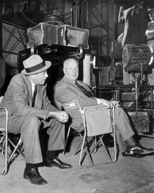 James Stewart Alfred Hitchcock