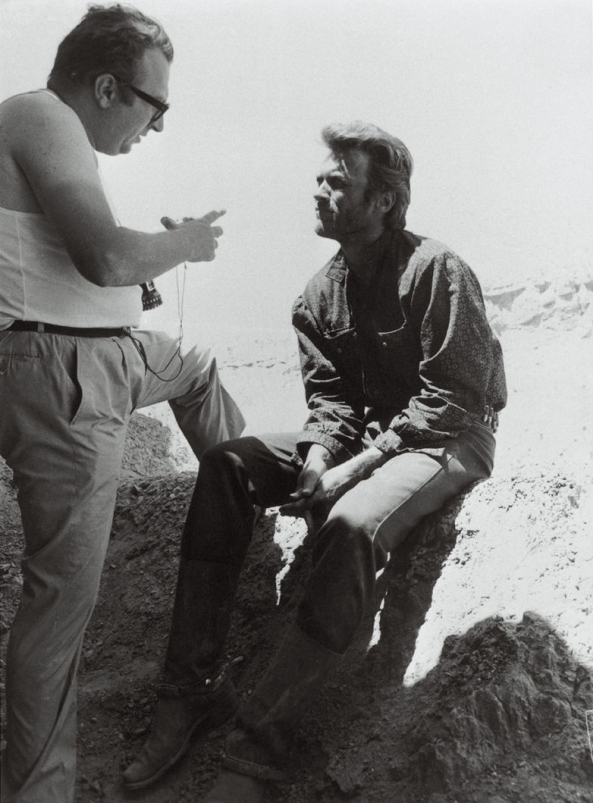 Sergio Leone Clint Eastwood