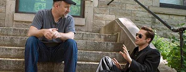 David Fincher Brad Pitt