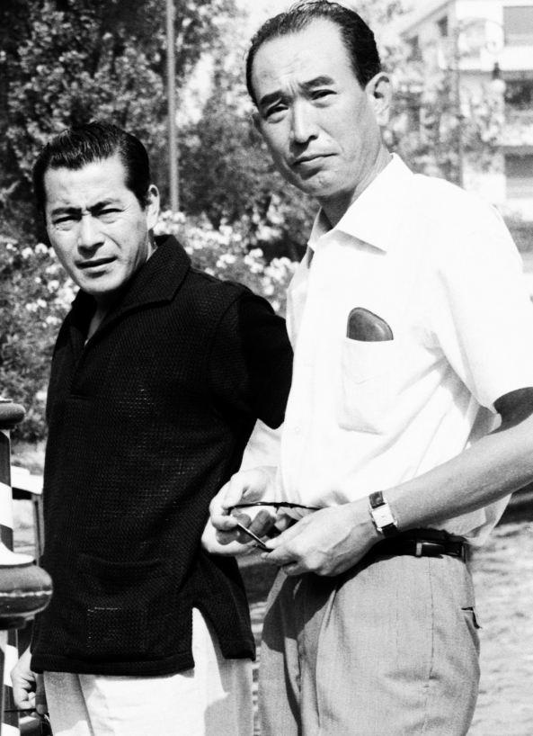 Toshiro Mifune Akira Kurosawa
