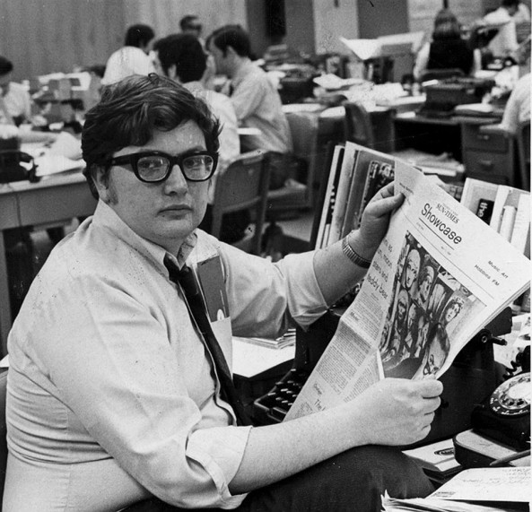 Ebert at the Chicago Sun-Times in 1967