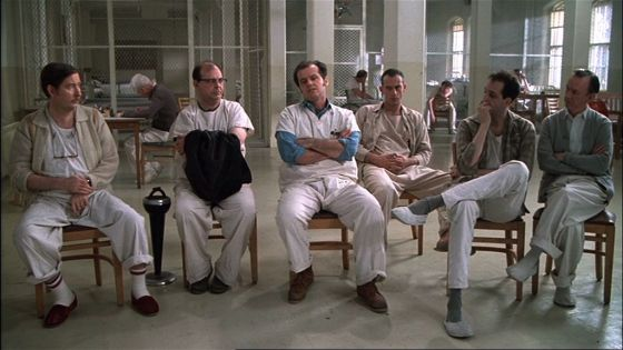 One Flew Over the Cuckoo's Nest Cast Pic 1 Jack Nicholson