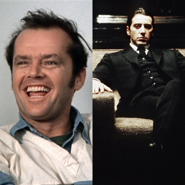 Jack Nicholson Al Pacino The Godfather
