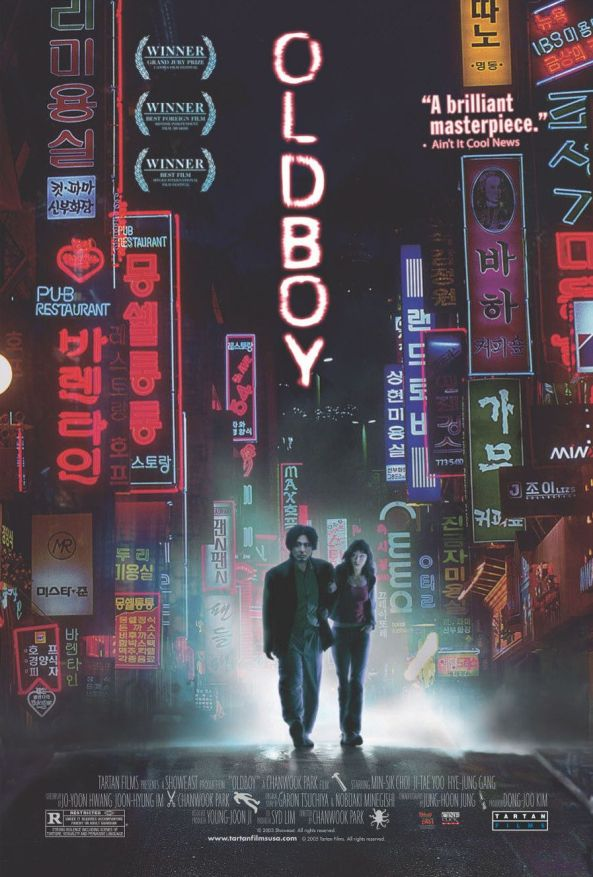 Oldboy Movie Poster