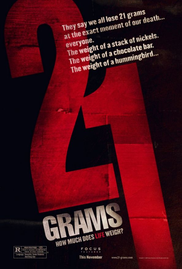 Twenty One Grams Movie Poster