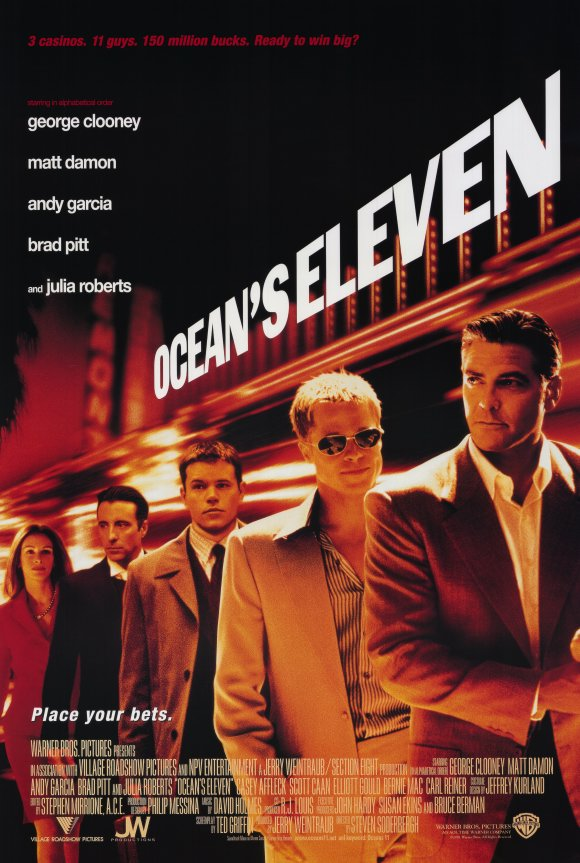 Ocean's Eleven Movie Poster