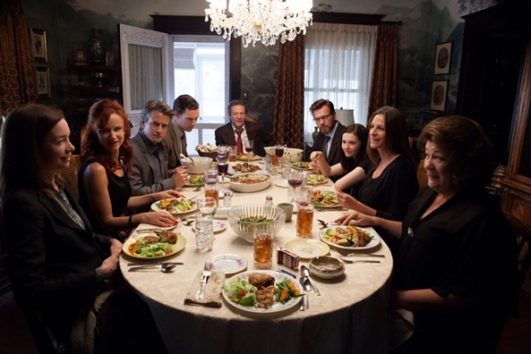 August Osage County Julia Roberts Margo Martindale Chris Cooper Benedict Cumberbatch Abigail Breslin Scene 1
