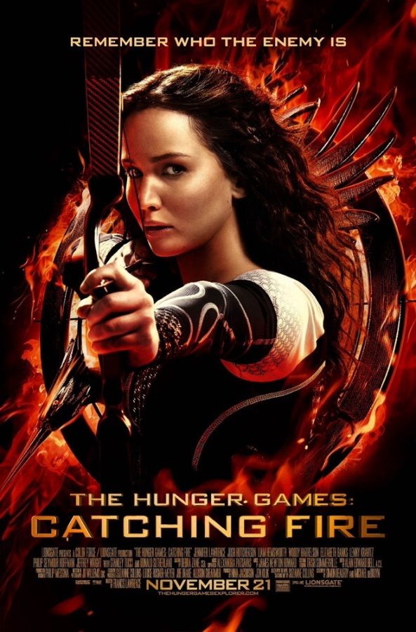 The Hunger Games Catching Fire Movie Poster