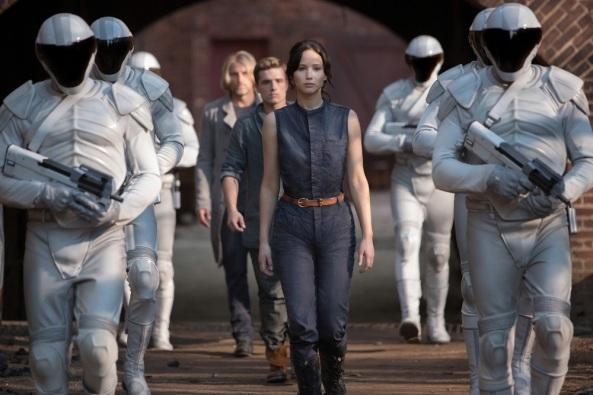 The Hunger Games Jennifer Lawrence Josh Hutcherson Katniss Everdeen Peeta Mellark