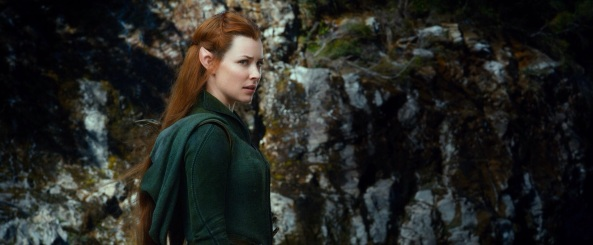 The Hobbit The Desolation of Smaug Evangeline Lilly