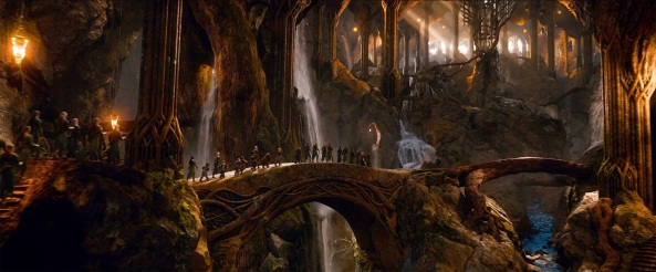 The Hobbit The Desolation of Smaug Cinematography Scene 2
