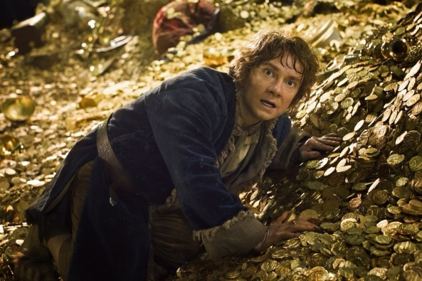 The Hobbit The Desolation of Smaug Martin Freeman Scene 2