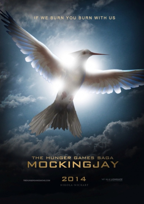 The Hunger Games Mockingjay Movie Poster