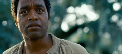 "Chiwetel Ejiofor as Solomon Northup in ""12 Years a Slave"""
