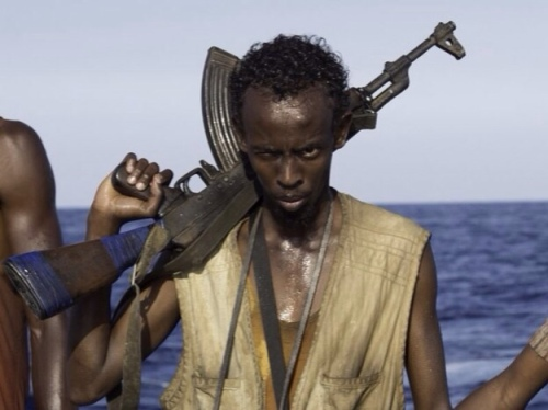 "Barkhad Abdi in ""Captain Phillips"""