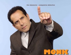Monk Television Show Poster