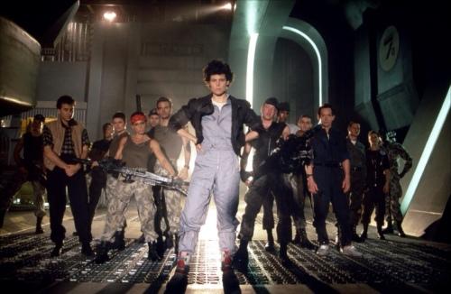Aliens Cast Sigourney Weaver Michael Biehn