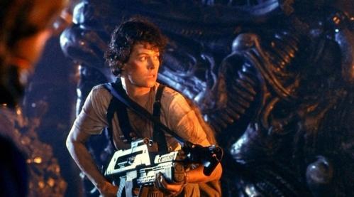 Sigourney Weaver Ellen Ripley Aliens 1986