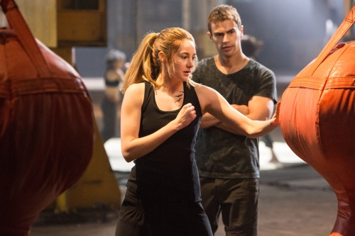 Shailene Woodley Theo James Still 2