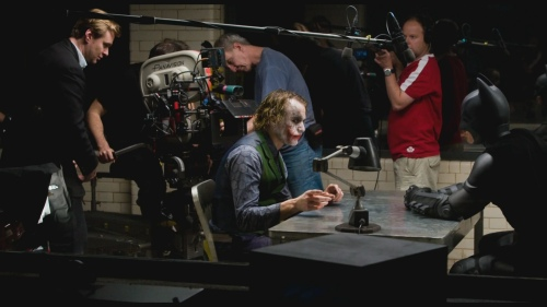 Christopher Nolan Christian Bale Heath Ledger