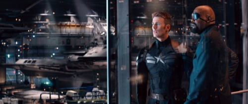 Captain America The Winter Soldier Still 5 Chris Evans Samuel L Jackson