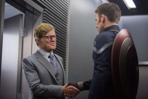 Captain America The Winter Soldier Still 4 Chris Evans Robert Redford