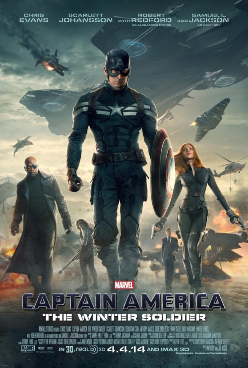 Captain America The Winter Soldier Movie Poster كابتن أمريكا جندي الشتاء