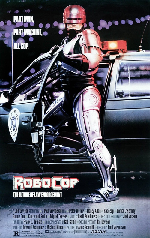 Robocop 1987 Movie Poster