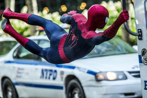 The Amazing Spider-Man 2 Andrew Garfield Spider-Man Still 1