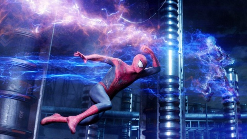 The Amazing Spider-Man 2 Andrew Garfield Spider-Man Jamie Foxx Electro Scene 2