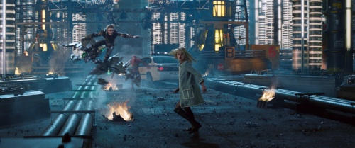 The Amazing Spider-Man 2 Green Goblin Dane DeHaan Gwen Stacy Emma Stone